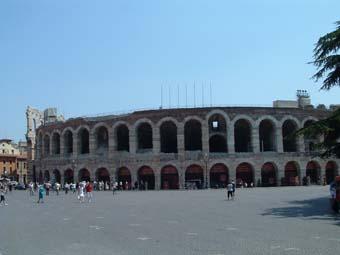 Verona - Distanza tra stazione porta nuova e arena di verona ...